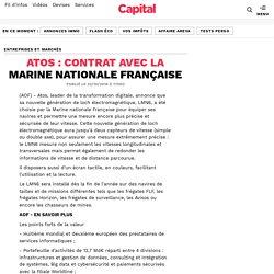 ATOS : contrat avec la Marine nationale Française
