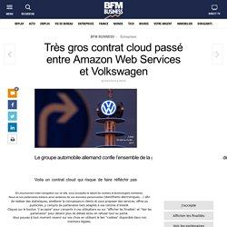 Très gros contrat cloud passé entre Amazon Web Services et Volkswagen
