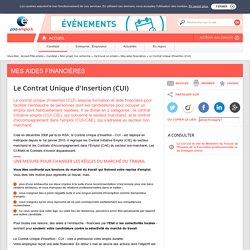 Le Contrat Unique d'Insertion - CUI