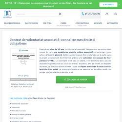 Contrat de volontariat associatif