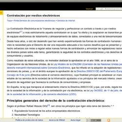 Contratación por medios electrónicos - Wikitel