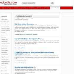 Contratistas Mineros Perú