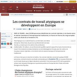 Les contrats de travail atypiques se développent en Europe