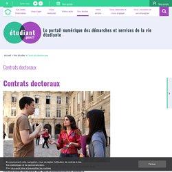 Contrats doctoraux - etudiant.gouv.fr