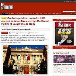 Contrats publics: un maire UMP accusé de favoritisme envers Guillaume Peltier et un proche de Copé
