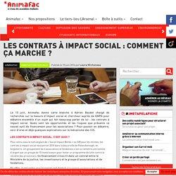 Les contrats à impact social : comment ça marche ? - Animafac