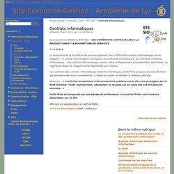 D3.2 Contrats informatiques