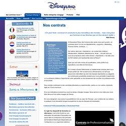 Nos contrats / Pourquoi Disney ?