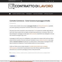 Contratto Commercio - Come funziona il passaggio di livello
