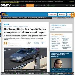 Contraventions: les conducteurs européens vont eux aussi payer