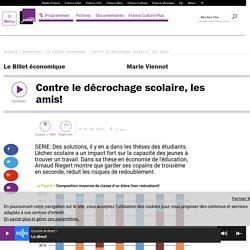 Étude mathématique/économique : retrouver ses amis du collège au lycée favoriserait la réussite scolaire (France Culture)