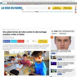 Une plate-forme de lutte contre le décrochage scolaire créée à Calais - Calais
