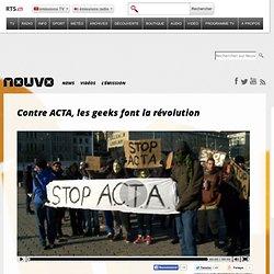 Contre ACTA, les geeks font la révolution
