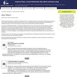 Contre-feux, revue littéraire de Lekti-ecriture.com
