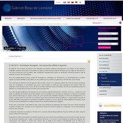 Contrefaçon de logiciel : une preuve bien difficile à rapporter - Flash Info - Actualités - Cabinet Beau de Loménie