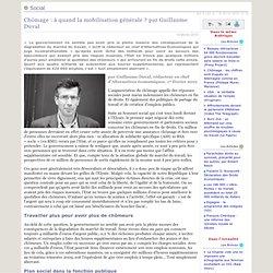 Chômage: à quand la mobilisation générale? par Guillaume Duval
