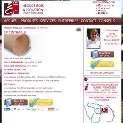 """Contreplaque CP cintrable : Fiche produit """"CP cintrable"""" du catalogue SM Bois"""