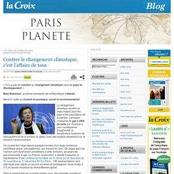 Mary Robinson : Contrer le changement climatique, c'est l'affaire de tous