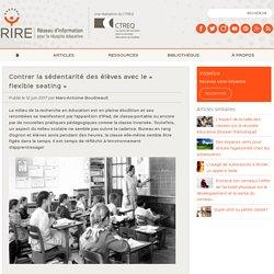 Contrer la sédentarité des élèves avec le « flexible seating »