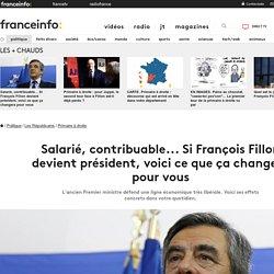 Salarié, contribuable... Si François Fillon devient président, voici ce que ça changera pour vous