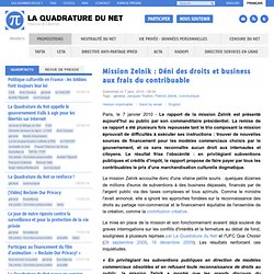 Mission Zelnik: Déni des droits et business aux frais du contrib