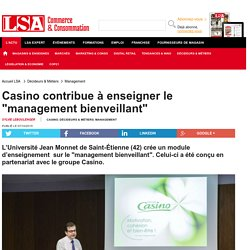 "Casino contribue à enseigner le ""management..."