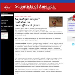 Site n° 5 : La pratique du sport contribue au réchauffement global