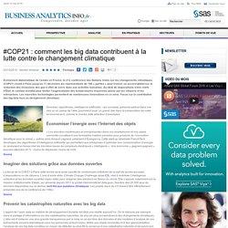 #COP21 : comment les big data contribuent à la lutte contre le changement climatique