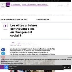 Les élites urbaines contribuent-elles au changement social ?