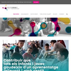 Escola Nova 21 - Contribuir a un aprenentatge rellevant i amb sentit