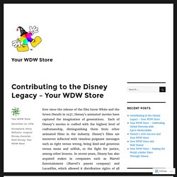 Contributing to the Disney Legacy – Your WDW Store – Your WDW Store