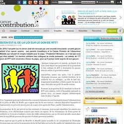 Qu'en est-il de la loi sur le don de RTT? - Cancer contribution