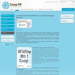 La contribution des coopératives à l'activité économique française