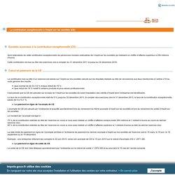 La contribution exceptionnelle à l'impôt sur les sociétés (CE)