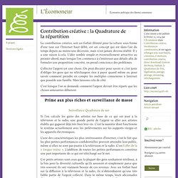 Contribution créative : la Quadrature de la répartition