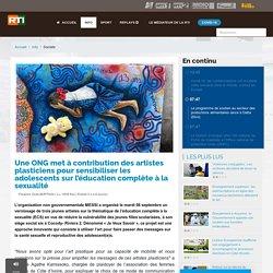 Une ONG met à contribution des artistes plasticiens pour sensibiliser les adolescents sur l'éducation complète à la sexualité