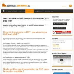 LMNP / LMP: La Contribution Économique et Territoriale (CET), qu'est ce que c'est?