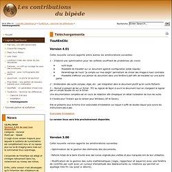 Les contributions du bipède - Téléchargements