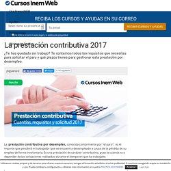 La prestación contributiva 2017