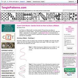 2 techniques pas à pas [TanglePatterns.com]