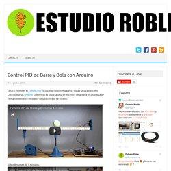 Control PID de Barra y Bola con Arduino - Estudio Roble