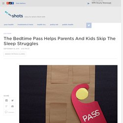 Kids Get Control Over Bedtime With The Bedtime Pass