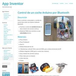 Control de un coche Arduino por Bluetooth