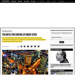 The Battle for Control of Smart Cities