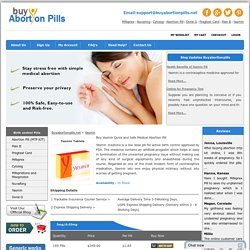 Order Yasmin Online Birth Control Pill at BuyAbortionPills.net