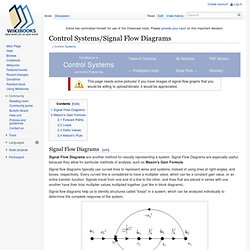 Control Systems/Signal Flow Diagrams - Wikibooks, collection of open-content textbooks