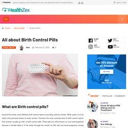 Birth Control Pills: Effective ways of Birth Control