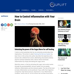 How to Control Inflammation with Your Brain