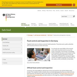 BMEL_DE 22/07/14 Food control and inspection in Germany