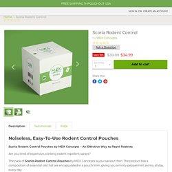 Mouse Prevention Pest Control — MDX Concepts